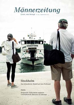 M�nnerzeitung Titelbild #55 Stockholm - Das Schwedische Modell auf dem Pr�fstand
