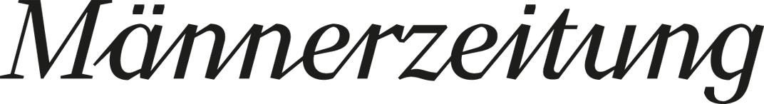 Männerzeitung Logo